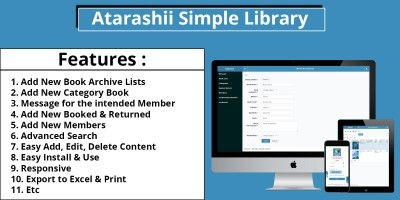 Atarashii Simple Library PHP