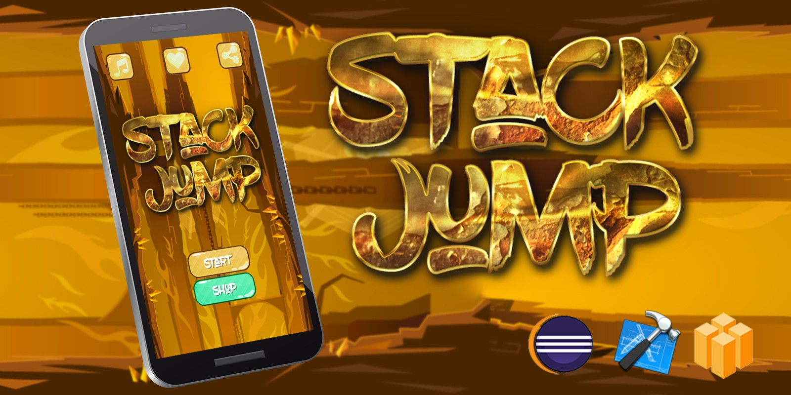 Stack Jump Android iOS Buildbox