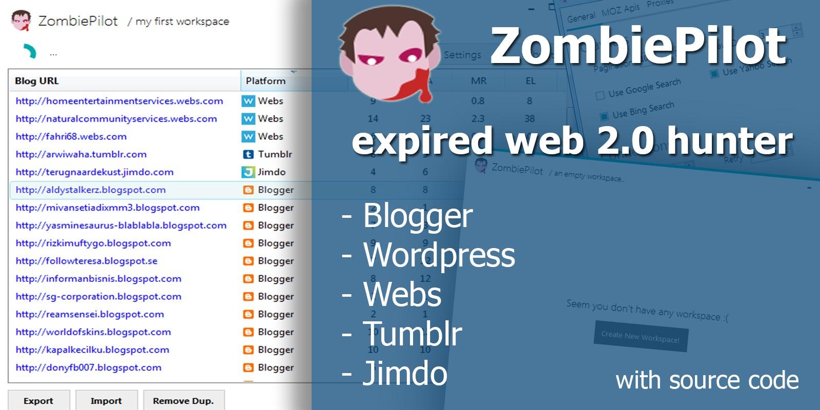 ZombiePilot - Advanced Expired Web Crawler
