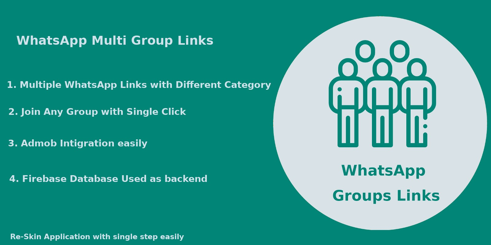 Whats App Multi Group Links - Android Native Code Nulled - Whats App