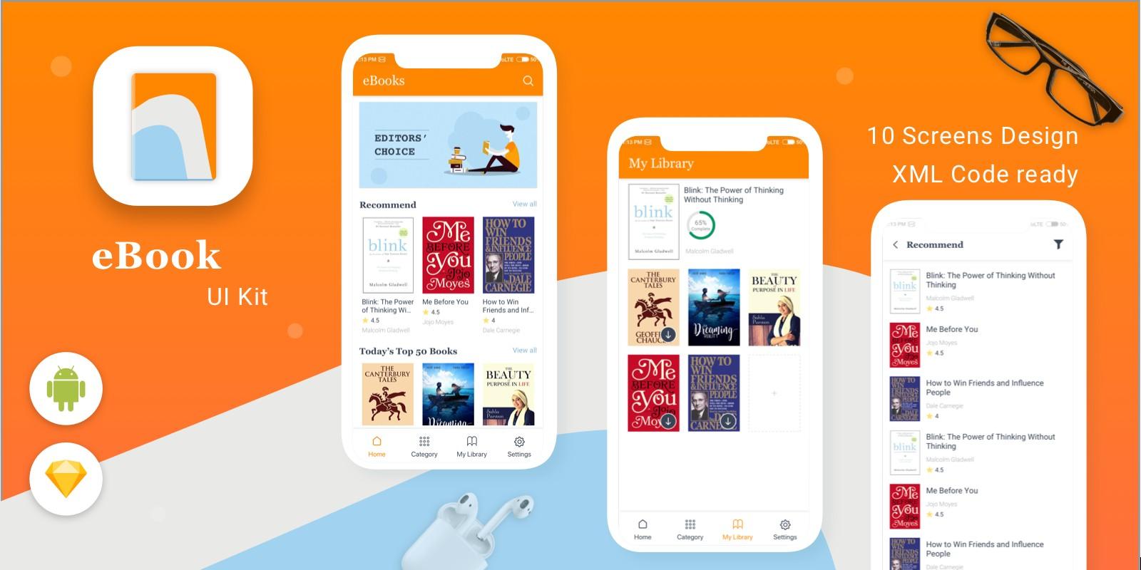 e-Book - Android Studio UI Kit
