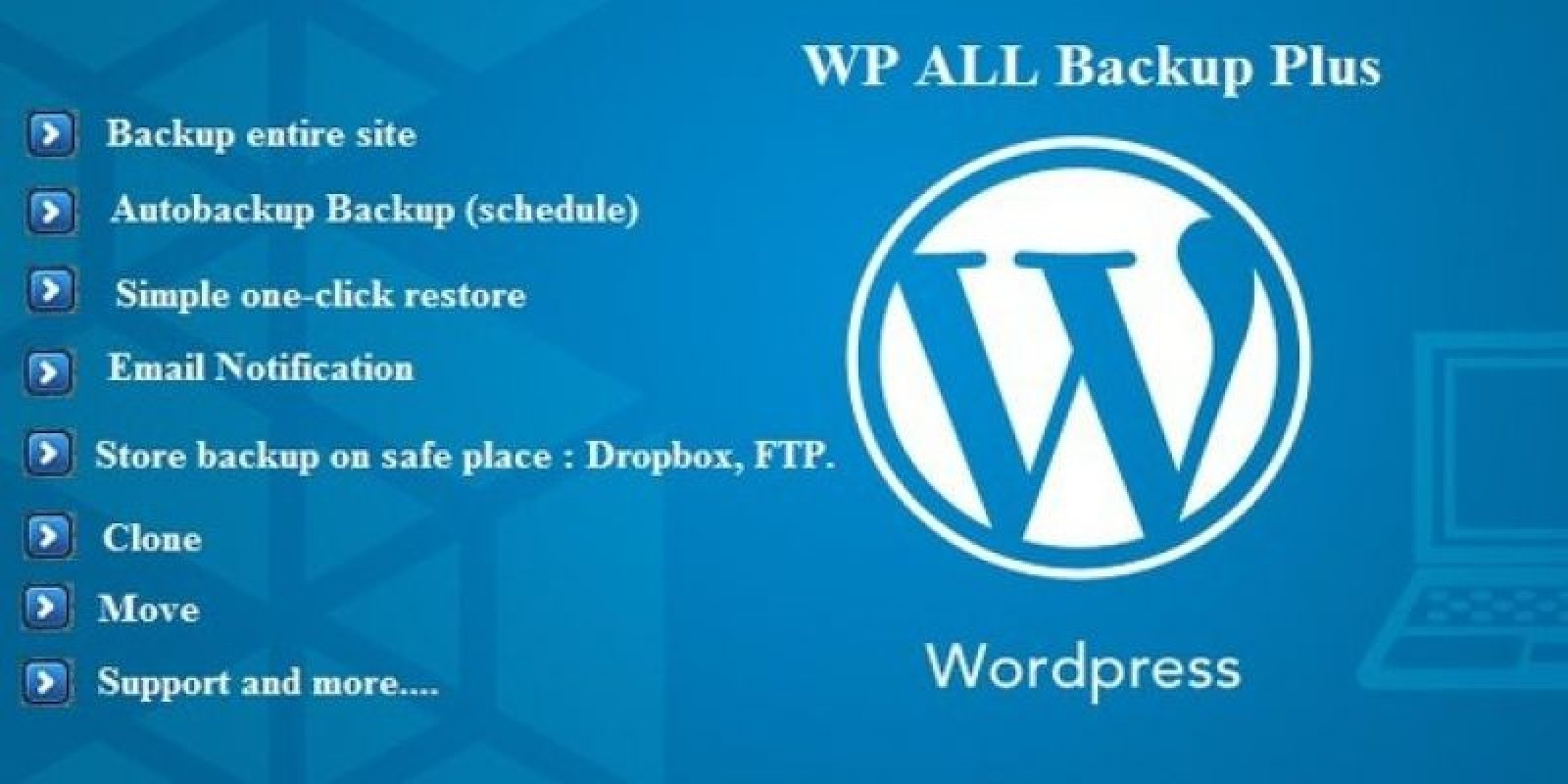 WP All Backup Plus - WordPress Plugin