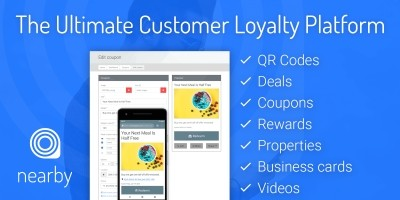 Nearby - Customer Loyalty Platform PHP