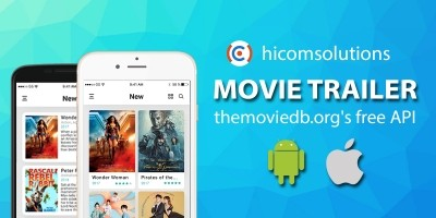 Movie Trailer TMDb Android App Template