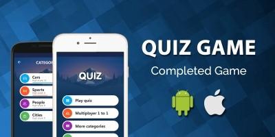 Quiz Game iOS App Template