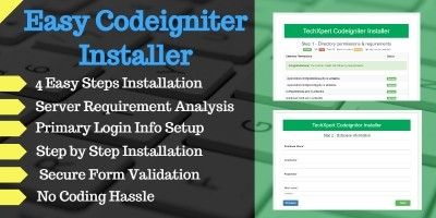 Easy Codeigniter Installer