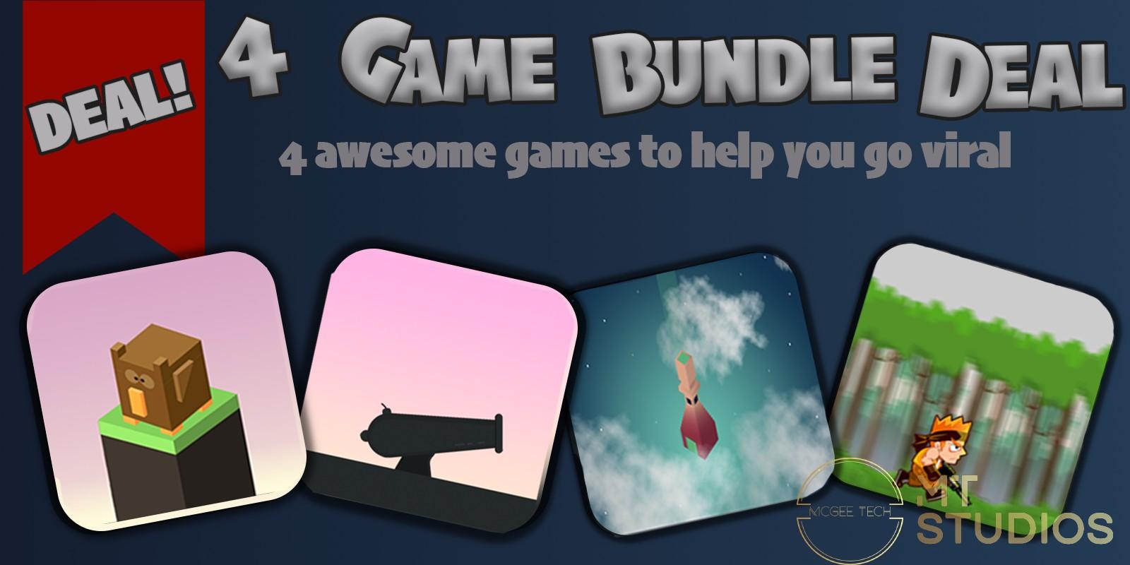 4 In 1 Buildbox Bundle