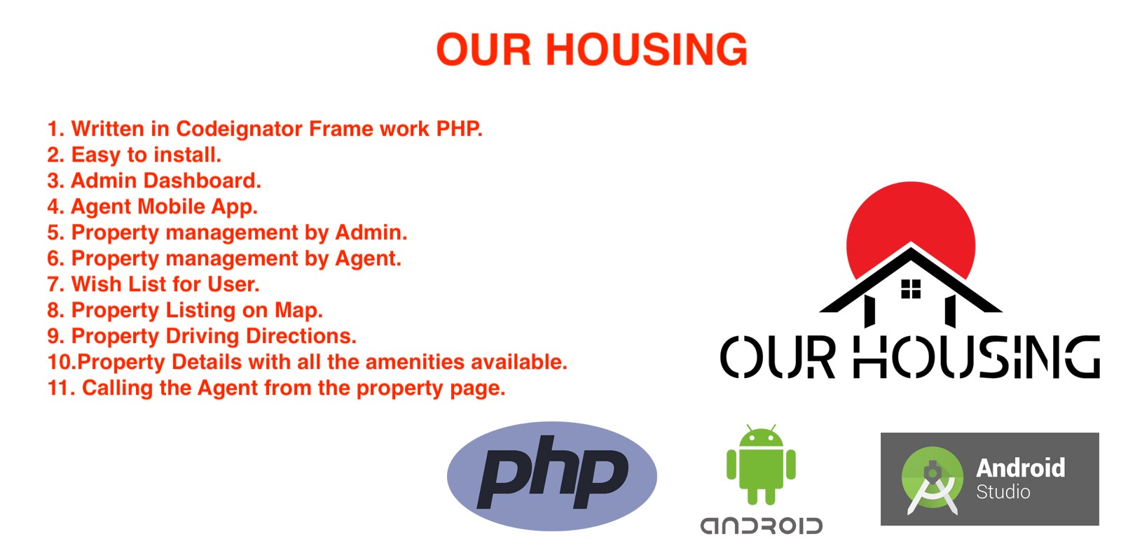 Our Housing - Real Estate Portal Android