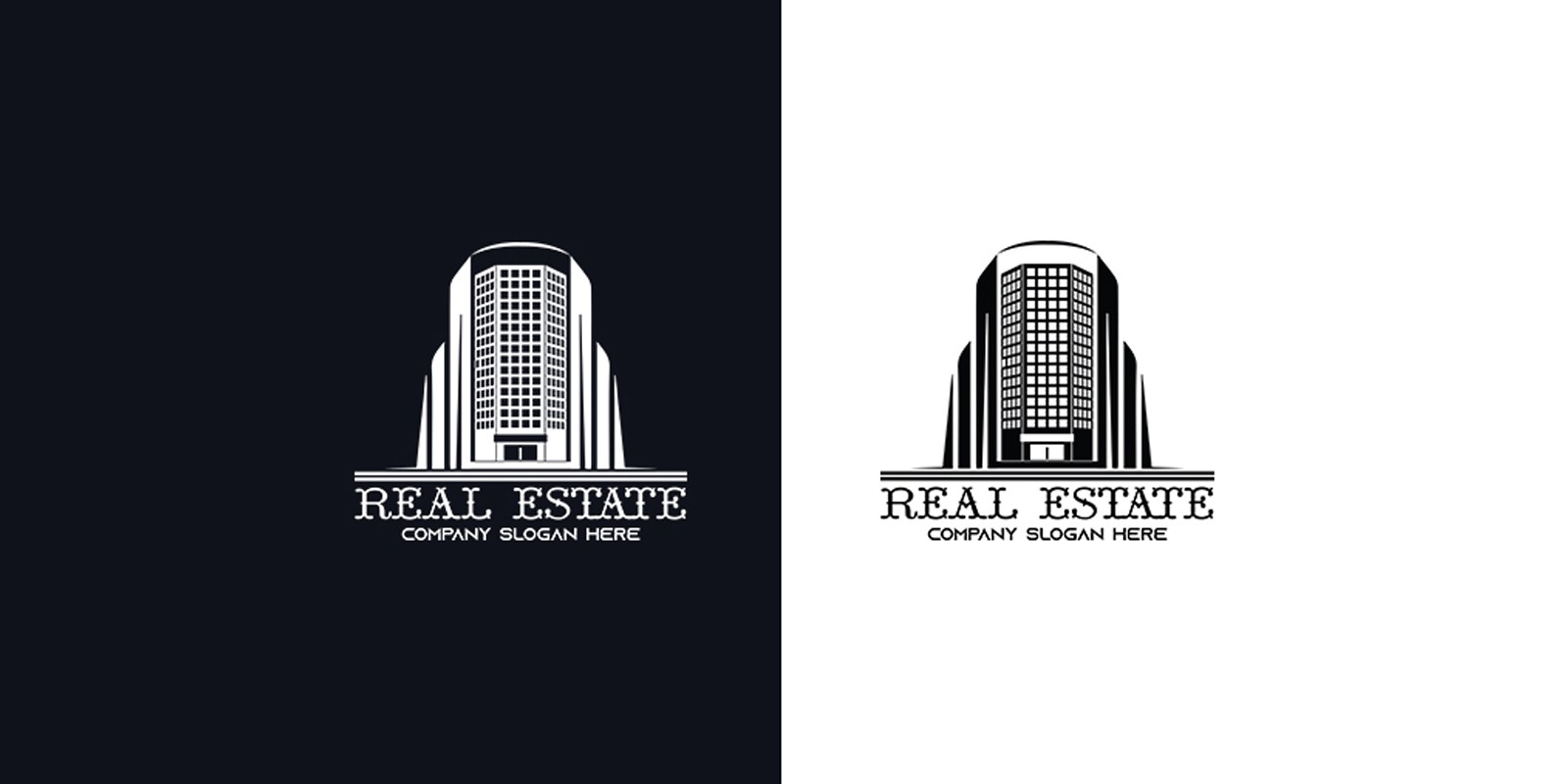 Real Estate And Construction  Logo
