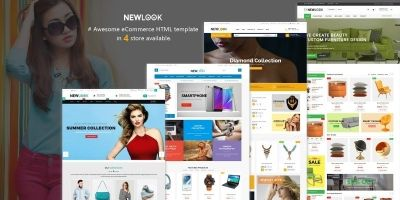 NewLook - Multipurpose E-Commerce HTML Template