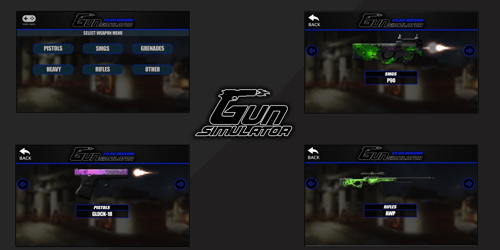 Gun Simulator - Android Unity Asset Project