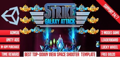 Strike Galaxy Attack - Unity Template