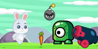Animals Adventure Run - Buildbox Template