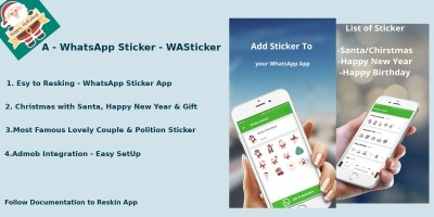 WhatsApp Sticker App - Android Native App