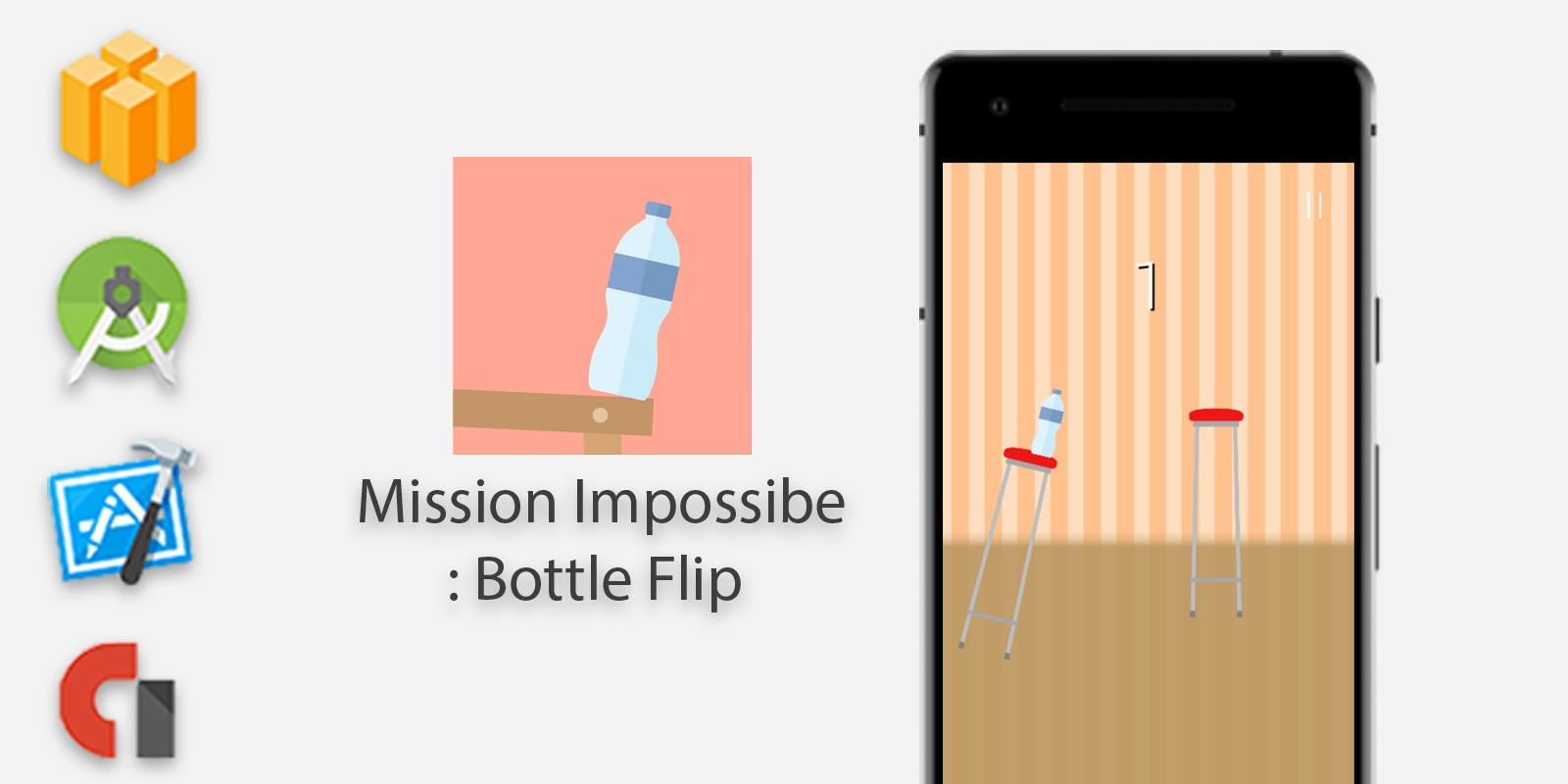 Bottle Flip - Buildbox Template
