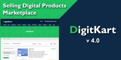 DigitKart - Multivendor Digital Marketplace