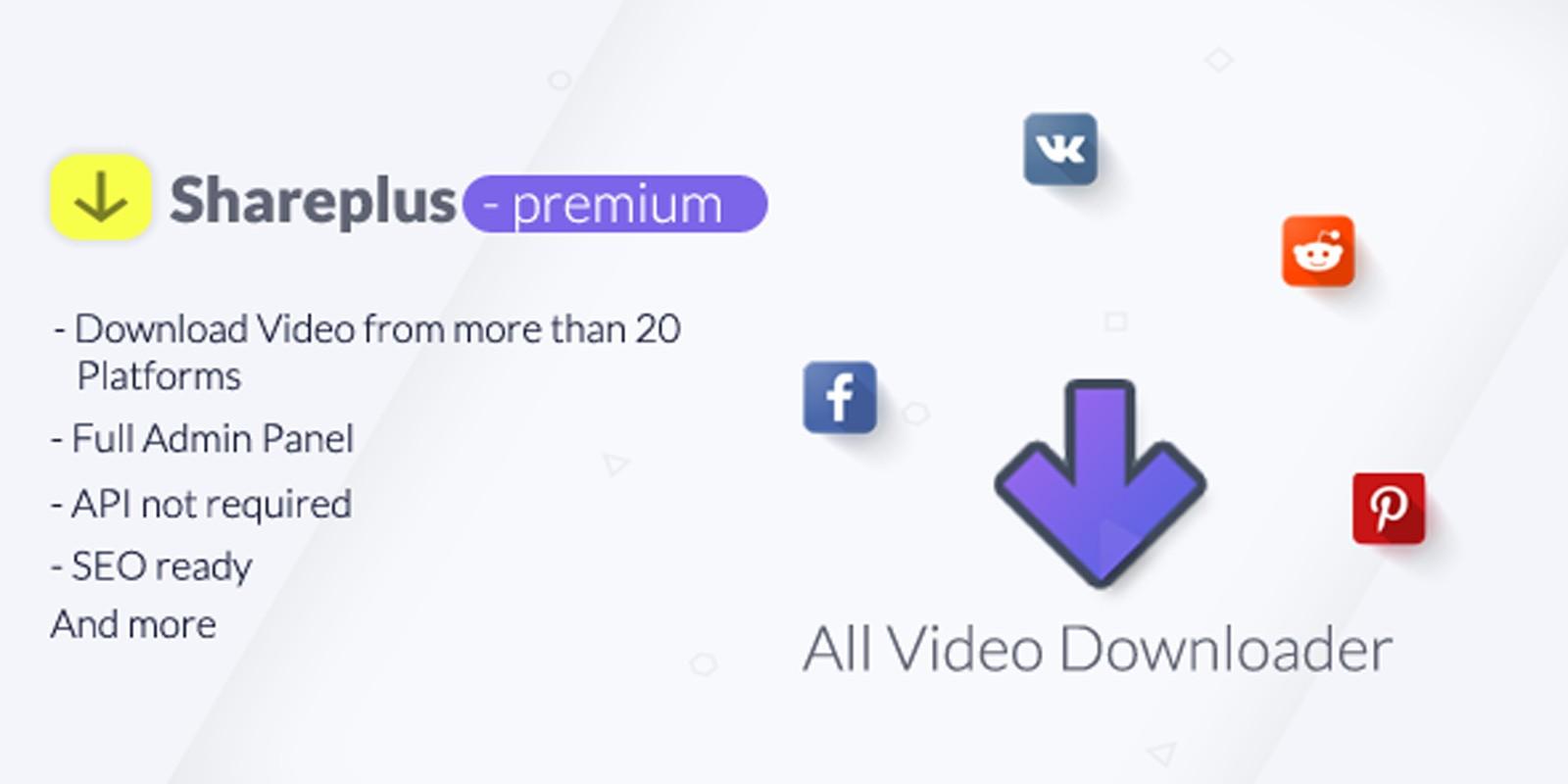 SharePlus -  Video Downloader