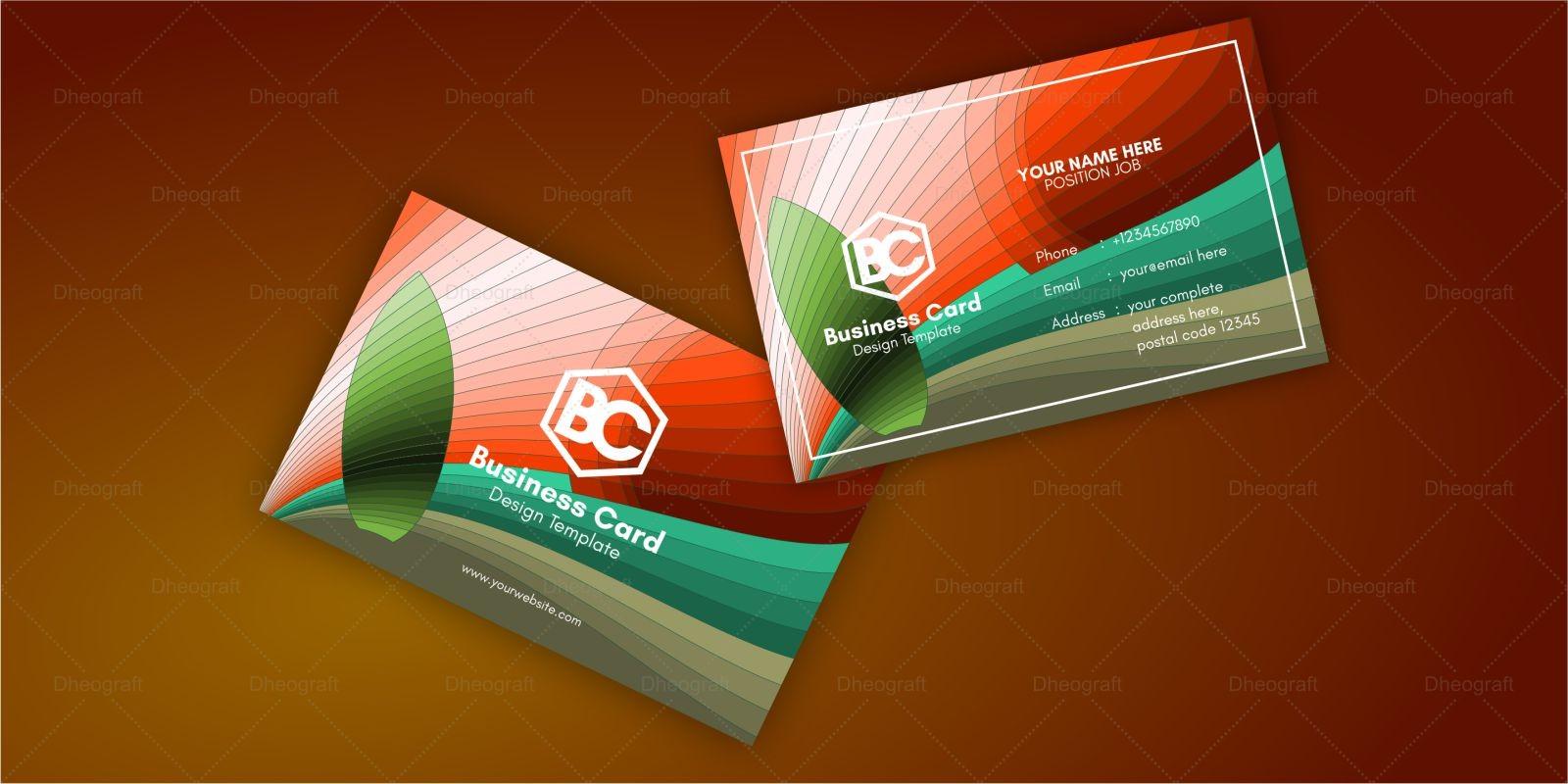 Wonder Beach Business Card Template