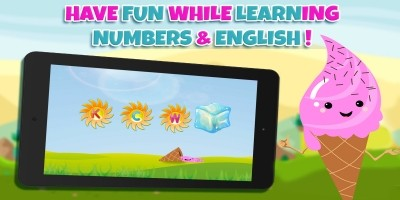 Learn Numbers And Letters with Ice Cream - Unity