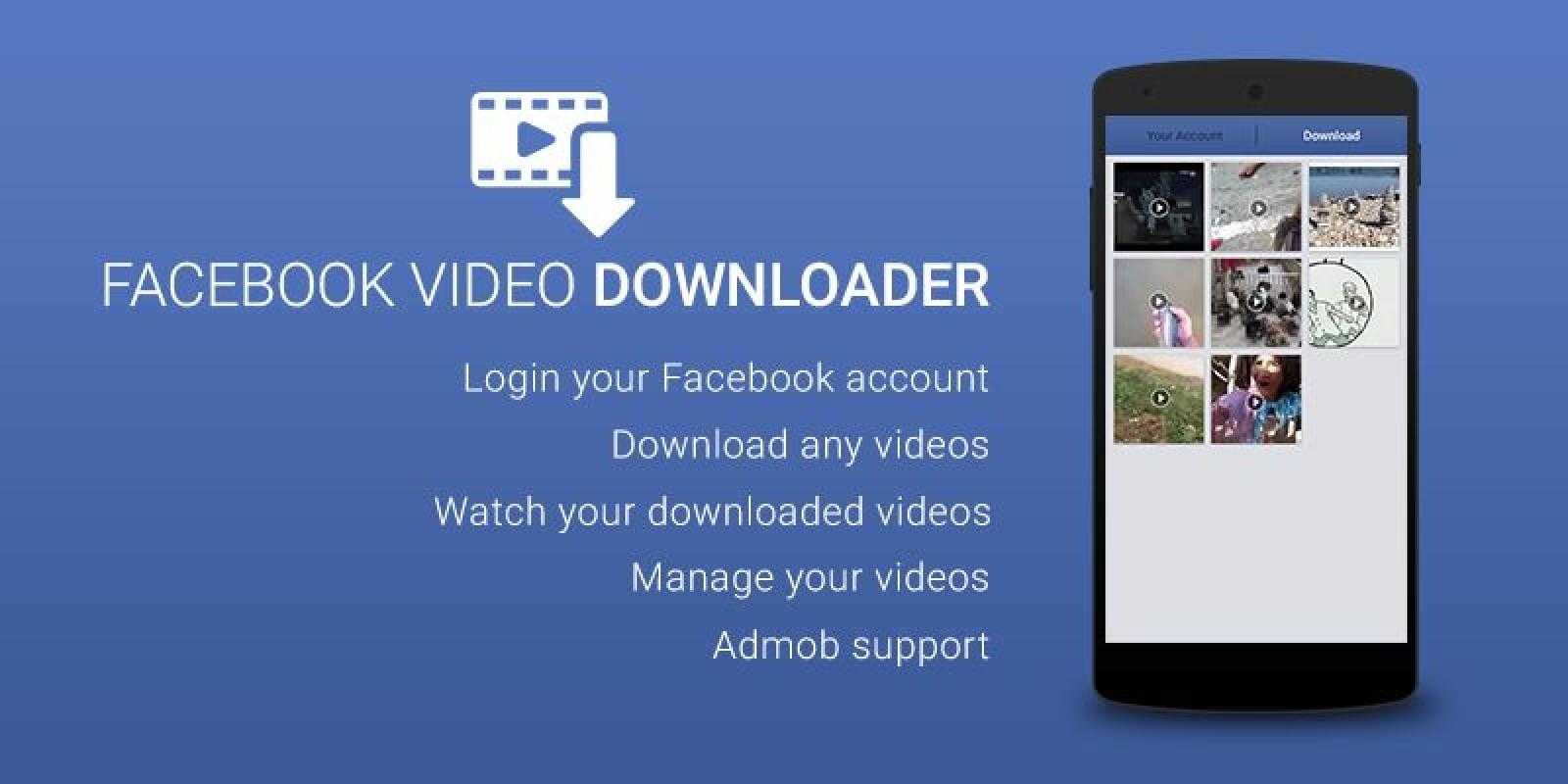 Download video downloader for facebook 2. 2. 3 apk for android.
