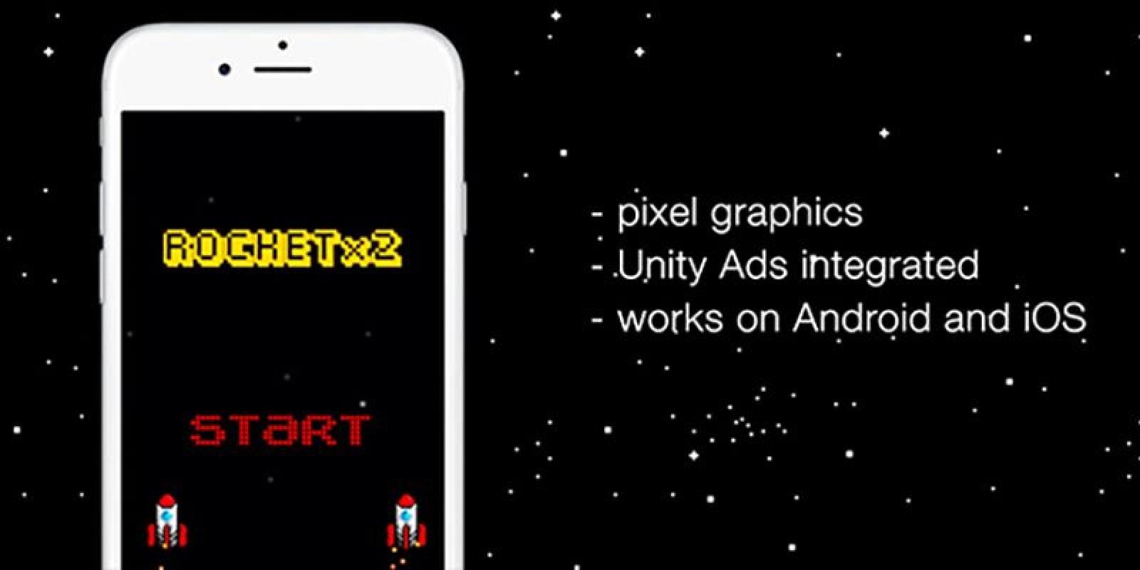 Rocket x 2 - Unity App Source Code
