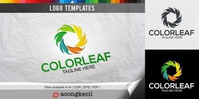 ColorLeaf - Logo Template