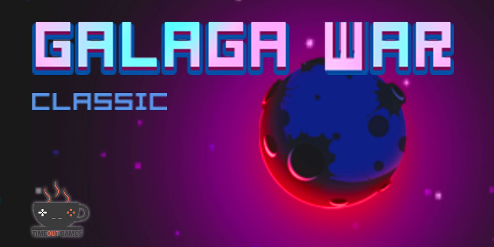Galaga War Classic - Buildbox Game Template