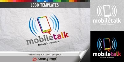 Mobile Talk - Logo Template