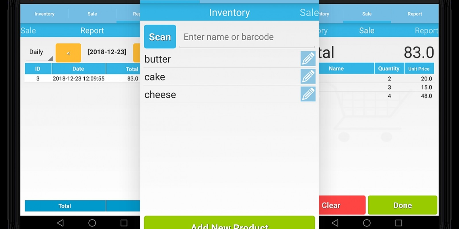 Point of Sale - Android App source code