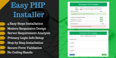 Easy PHP  Installer - Complete PHP App Installer