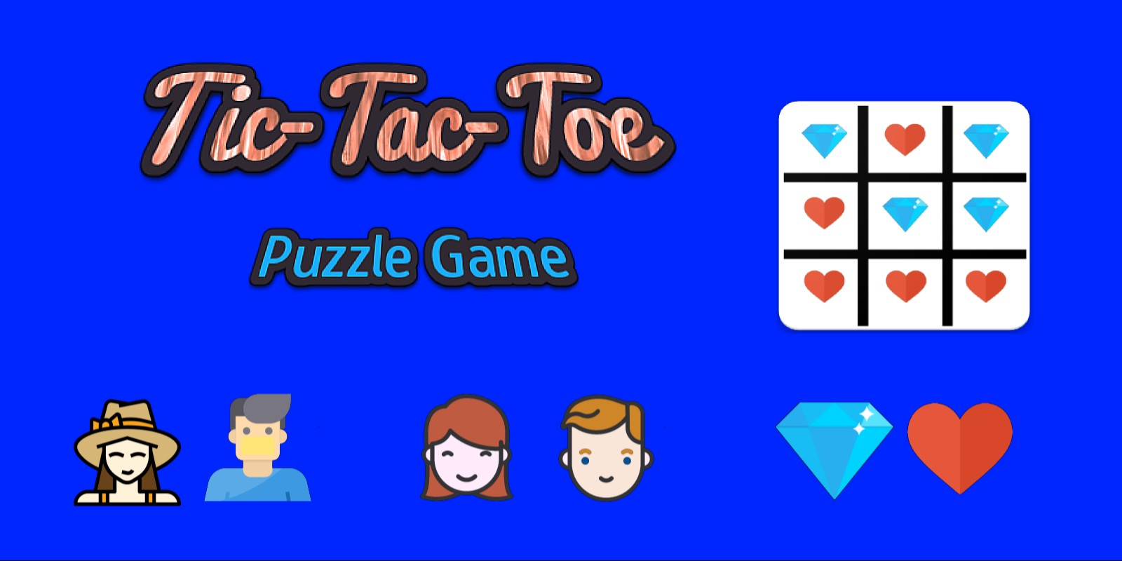 Tic-Tac-Toe Android Puzzle Game Template