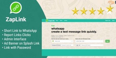 ZapLink - Generator and Management Links WhatsApp