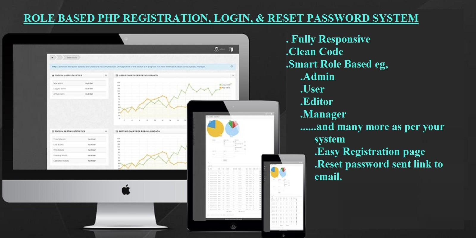 Role Based PHP Registration And Login System
