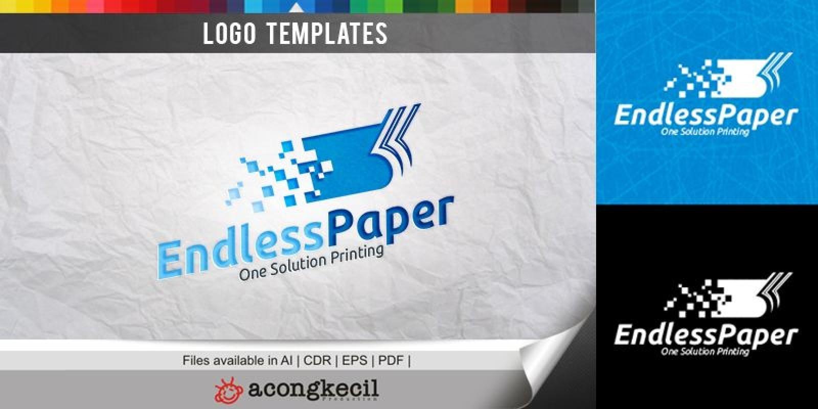 Endless Paper - Logo Template