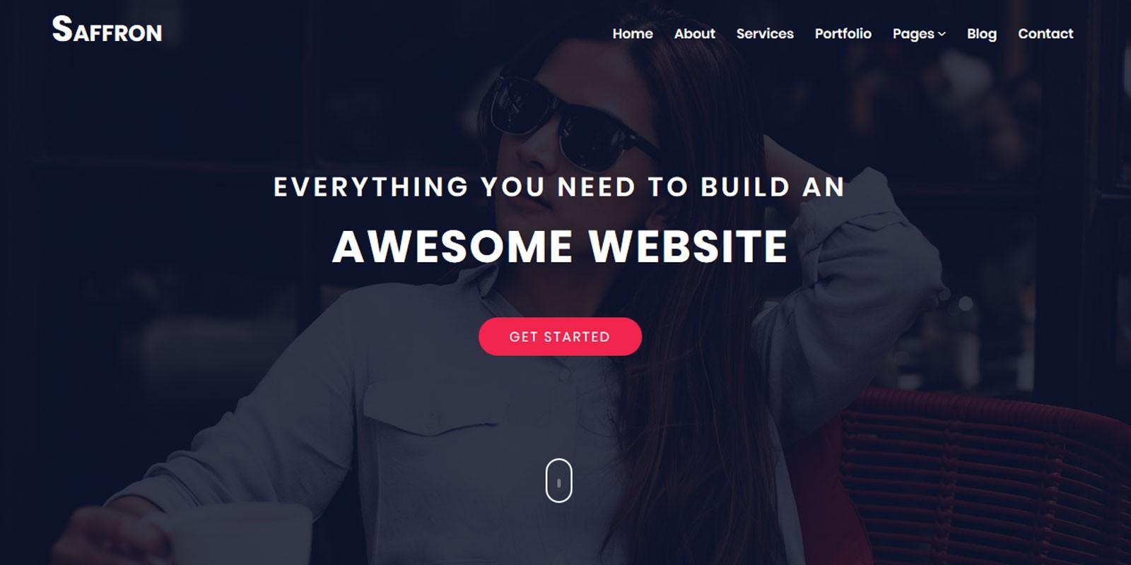 Saffron - Multi-Purpose HTML Template