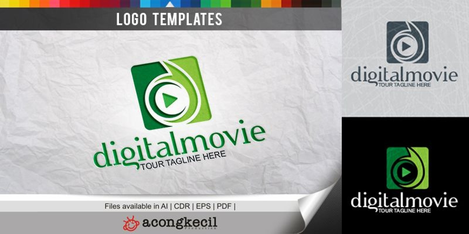 Digital Movie - Logo Template