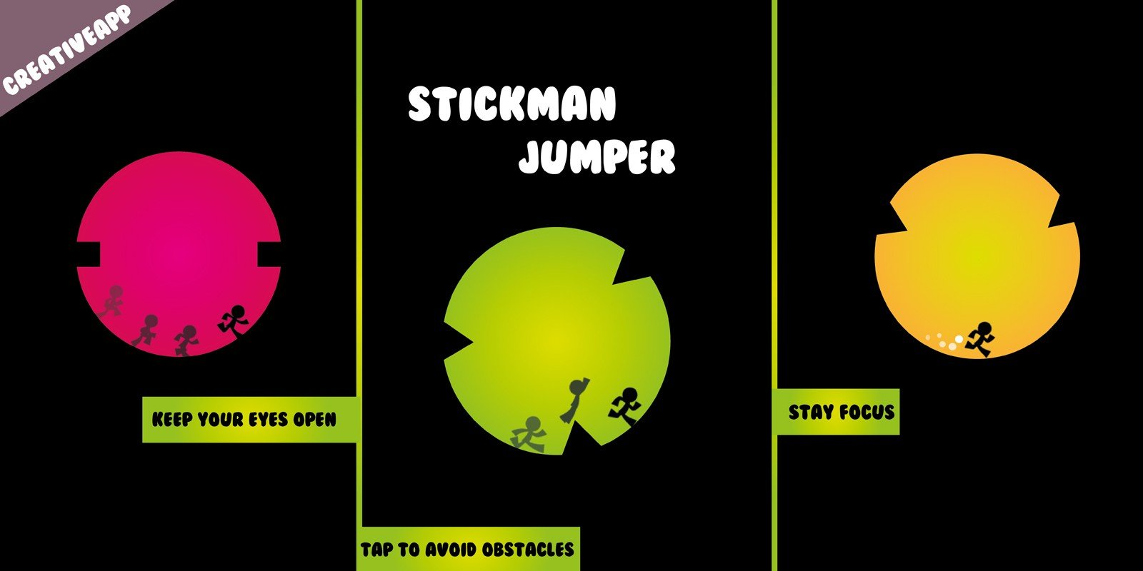 Stickman Jumper - Buildbox Template