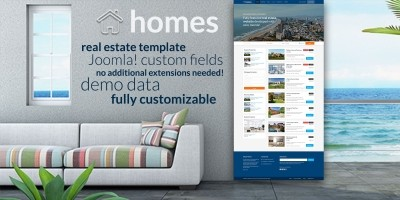 Hot Homes - Joomla Template