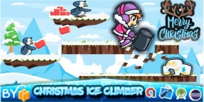 Ice Climber - Buildbox Template
