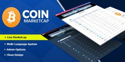 Coin Marketcap PHP Script