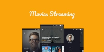 Movie Streaming App Ionic Theme