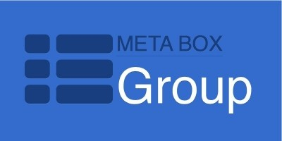 Meta Box Group Extension - Wordpress Plugin
