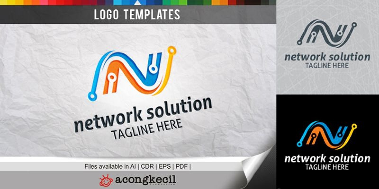 Network Solution - Logo Template