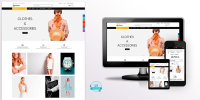 Plutus Fashion - PrestaShop Theme