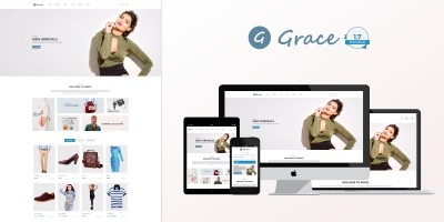 Grace Fashion - PrestaShop Theme
