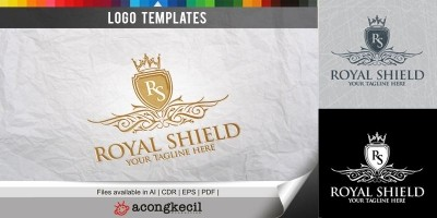 Royal Shield - Logo Template