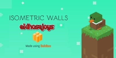 Isometric Walls - Buildbox Template