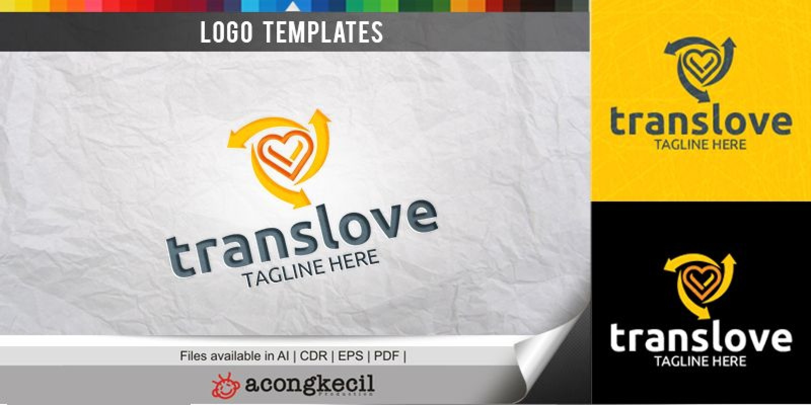 Trans Love - Logo Template