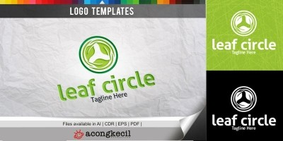 Circle Eco - Logo Template