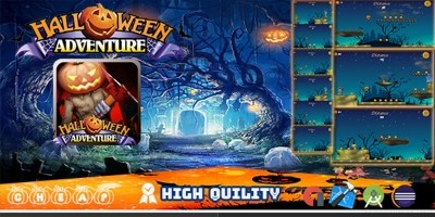 Halloween Adventure - Template Buildbox